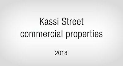 Kassi Street commercial properties in Tallinn